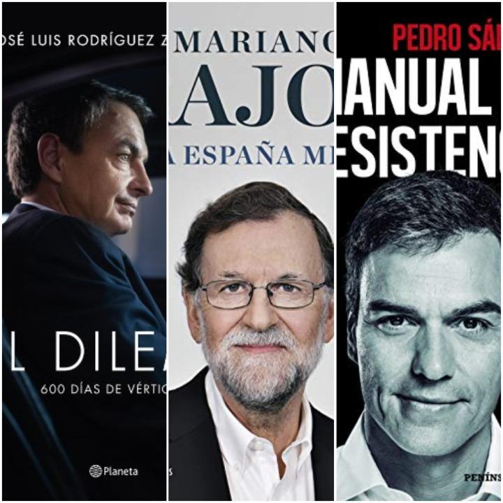 ZP, Rajoy, Sánchez: ¿quién ha escrito las mejores memorias? (I) PedroSánchez